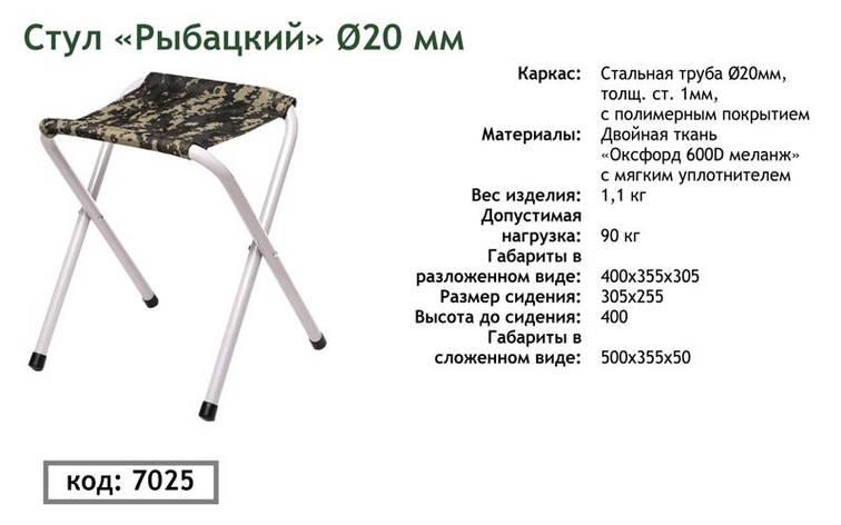"""Стул Vitan """"Рыбацкий д. 20 мм"""", фото 2"""