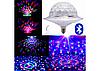 Світлодіодний дискошар в патрон LED UFO Bluetooth Crystal Magic Ball E27, фото 2