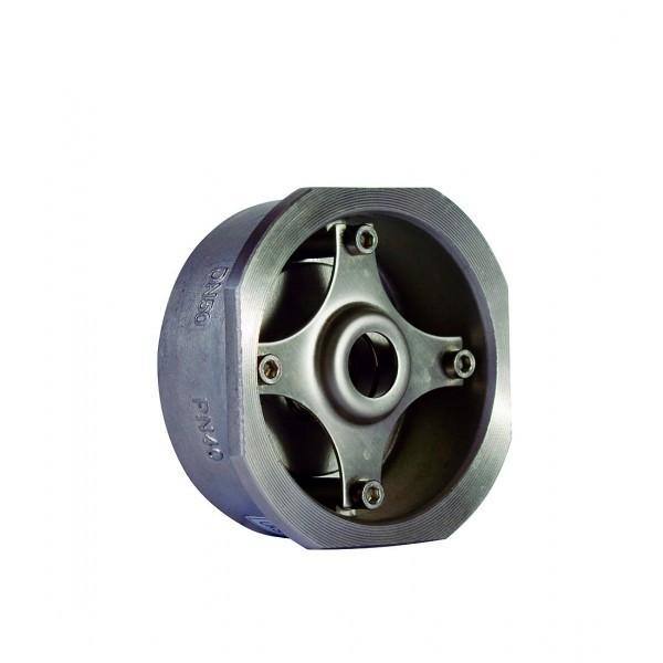 Клапан обратный межфланцевый подпружиненный AISI 316 арт С223 Ру40 К Ду 32