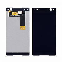 Дисплей для SONY E5533/E5506 Xperia C5 Ultra Dual Sim с черным тачскрином