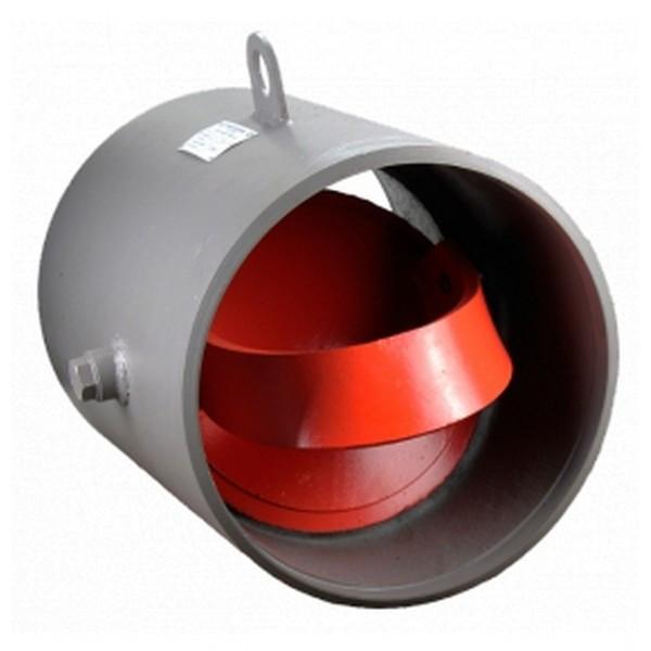 Клапан обратный приварной стальной 19с47нж Ру40 Ду 200