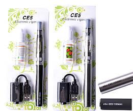 Электронная сигарета + жидкость CE5 1100мАч (блистерная упаковка) EC-005-1