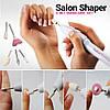 Набор для маникюра, фрезер для ногтей Salon Shaper + 5 насадок, фото 5