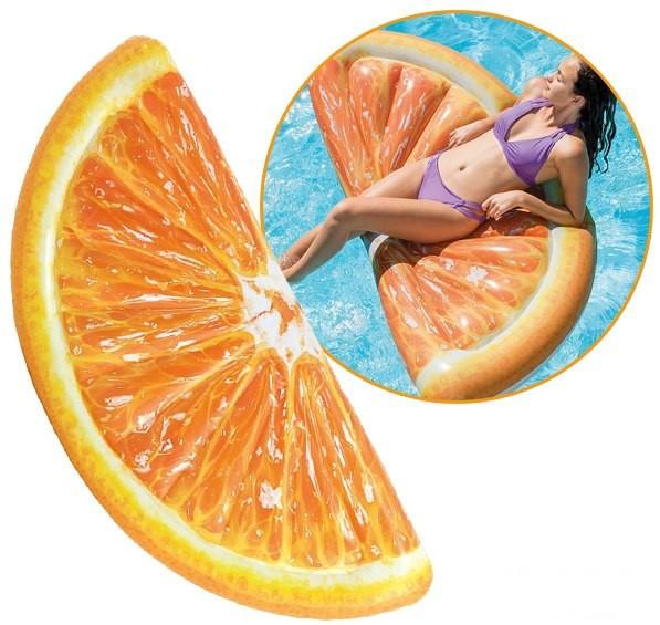 Матрац 58763sh INTEX Часточка апельсина