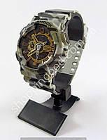 Мужские армейские часы Casio G-Shock 5081 GA-100 хаки камуфляж для армии копия, фото 1