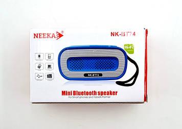 Копія MP3 Bluetooth Колонка Neeka NK-BT74