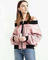 Летняя женская кофта-ветровка с открытыми плечами. Размер S