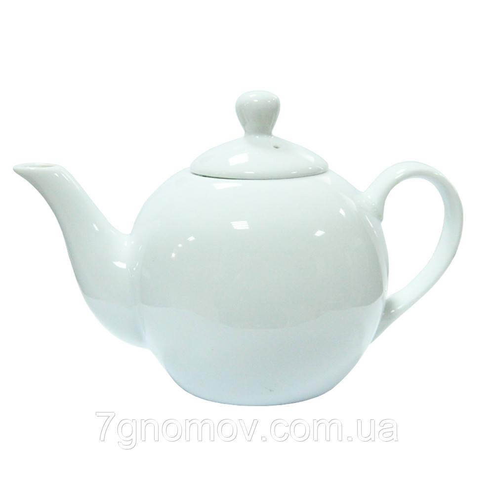 Чайник фарфоровий білий ХОРЕКА Bailey Classic 450 мл