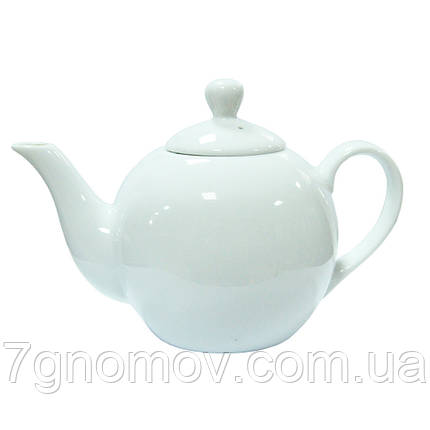 Чайник фарфоровий білий ХОРЕКА Bailey Classic 450 мл, фото 2