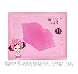 Патчи для губ Bioaqua Pink Collagen