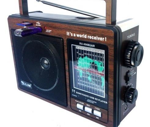 Акумуляторний Радіоприймач GOLON RX-9966 UAR з USB mp3