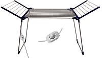 Электросушилка раскладная для белья