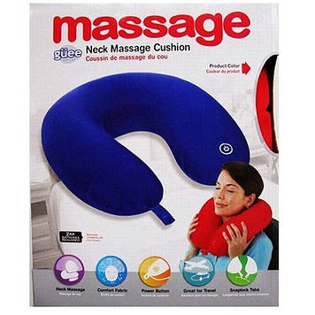 Подушка підголовник масажна Neck Massage Cushion