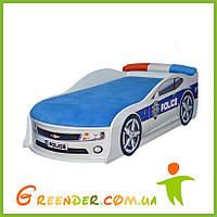 """Детская кроватка машинка """"CAMARO"""" Полиция"""