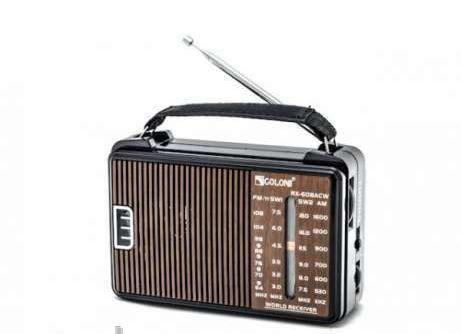 GOLON RX-608 CW Радіоприймач всехвильовий
