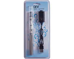 Електронна сигарета CE-6 900mAh (блістерна упаковка) №609-24