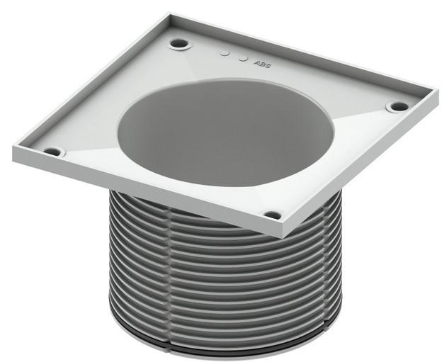 Верхняя вставка 150 мм без декоративной решетки TECE drainpoint S