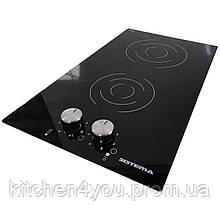 Sistema V 3003 K-03 (300 мм.) электрическая варочная поверхность, черная стеклокерамика