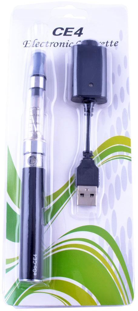 Электронная сигарета CE-4, 650 mAh (блистерная упаковка) №609-38 Black
