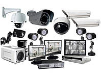 Монтаж систем видеонаблюдения.