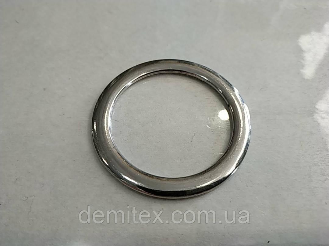 Кольцо литое плоское никель 40х7мм