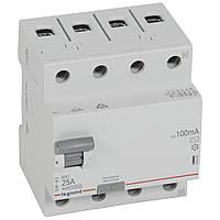 RX³ Диференційне Реле 100mA 25А 4п AC