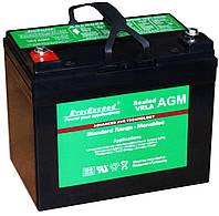 Аккумулятор AGM - 35 Ач, 12В гелевый EverExceed ST-1235, фото 2