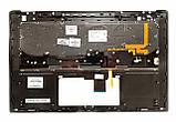 Оригинальная клавиатура для ноутбука HP Omen 15-5000 series, ru, black, подсветка, передняя панель, фото 2