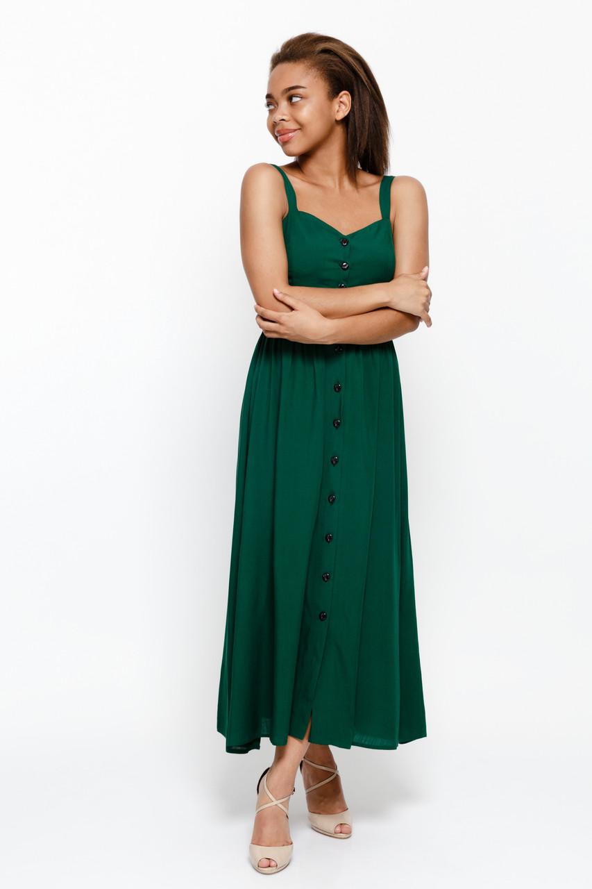Сарафан LiLove 1-013 42 зеленый