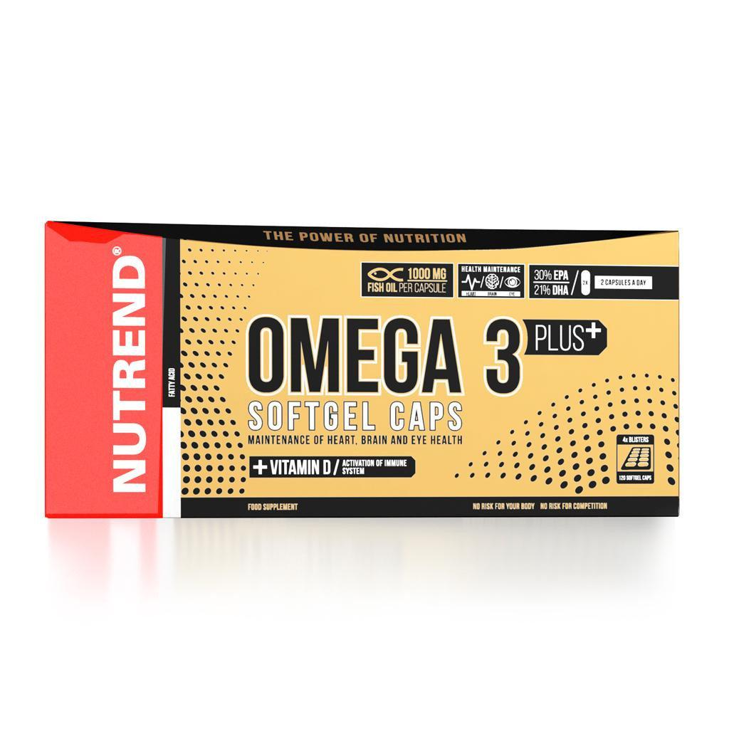 Омега 3 Nutrend Omega 3 Plus 120 caps