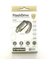 Флешка для iPhone и iPad / Флеш накопитель  на 32 Gb