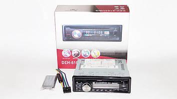 Автомагнітола 1DIN DEH-6104UBG DVD магнітола + USB+SD+AUX+FM