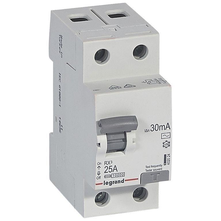 RX³ Диференційний Автомат 1П+Н C 6A 30mA-AC