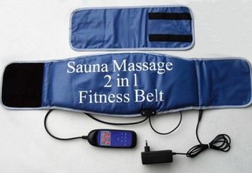 Пояс-масажер Sauna Massager 2 in 1 fitness Belt