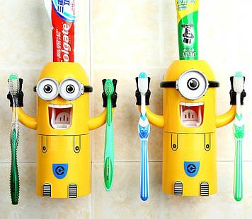 Автоматичний дозатор зубної пасти Міньйон