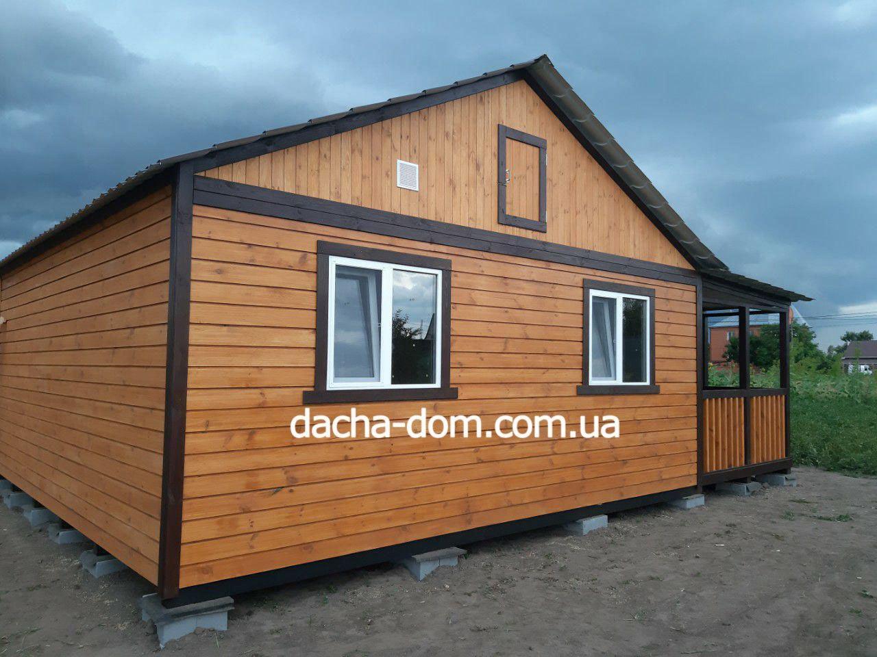 Дачний(садовий) будиночок Нові матеріали обробки Нова ціна.
