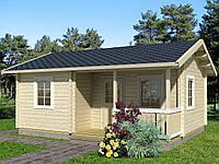 Дом деревянный из профилированного бруса 5.6х6.6. Скидка на домокомплекты на 2020 год