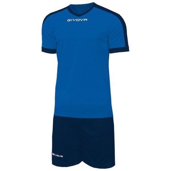 Футбольная форма Givova Revolution KITC59-0204 Темно-синий Размер L (8034044647039)