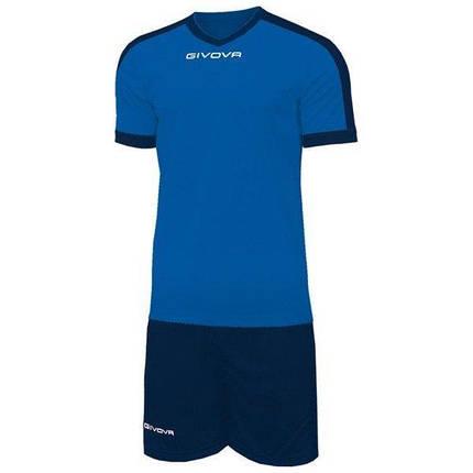 Футбольная форма Givova Revolution KITC59-0204 Темно-синий Размер L (8034044647039), фото 2