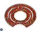 Детский надувной круг Пончик, 90 см, фото 2