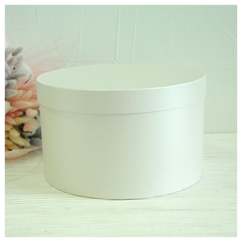 Кругла коробка d= 25 h=15 см