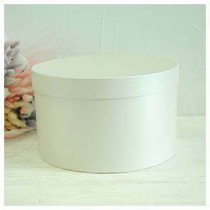 Круглая коробка d= 25 h=15 см