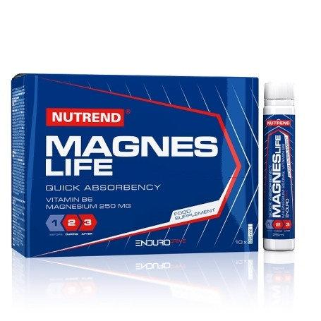Витамины магний Nutrend Magneslife Strong шот 60 мл