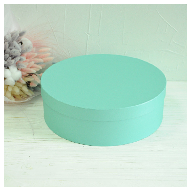 Кругла коробка d= 31 h=10 см