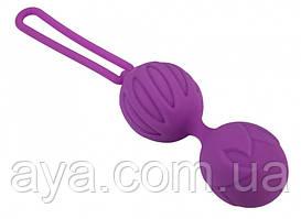 Вагинальные шарики Adrien Lastic Geisha Lastic Balls BIG Violet S