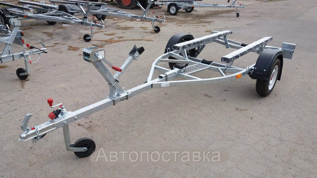 Лидер лафет для перевозки лодок Малыш 4.20м оцинкован Люкс