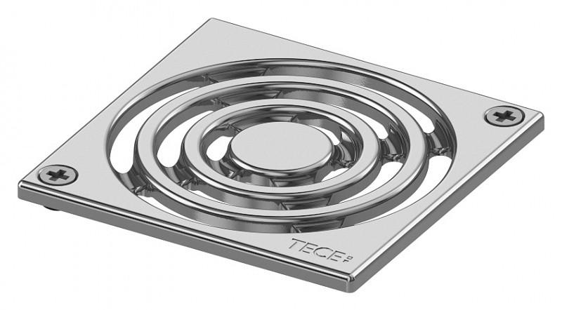 Декоративная решетка 100 мм с винтами TECE drainpoint S