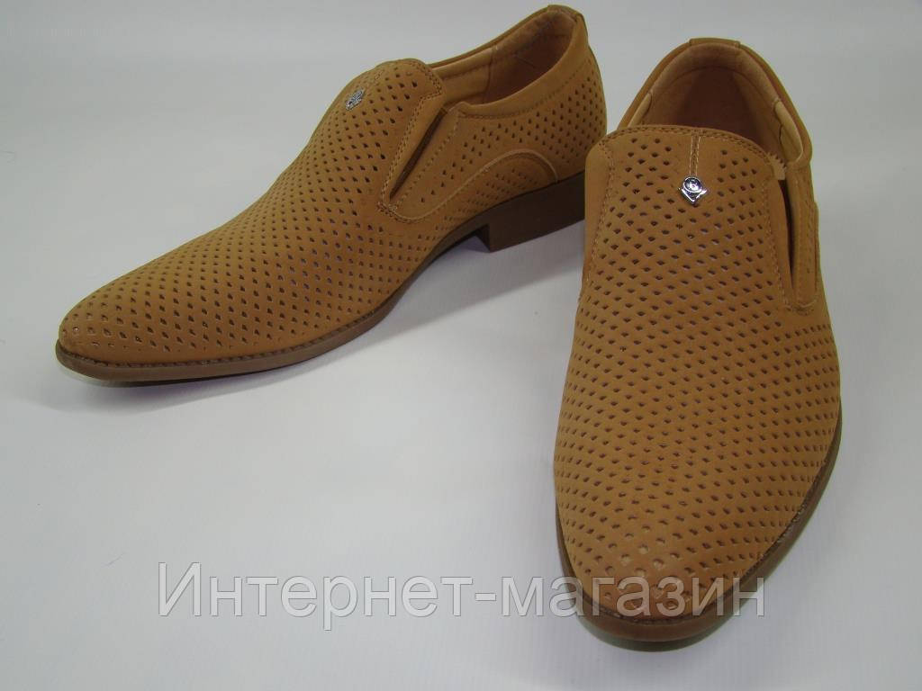 Туфли мужские Clowse 5A801 (39-43р) код 8016
