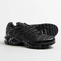 Мужские кроссовки Nike TN Air Max Plus Triple Black 604133-050, Найк Аир Макс ТН, фото 3