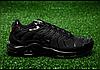Мужские кроссовки Nike TN Air Max Plus Triple Black 604133-050, Найк Аир Макс ТН, фото 2